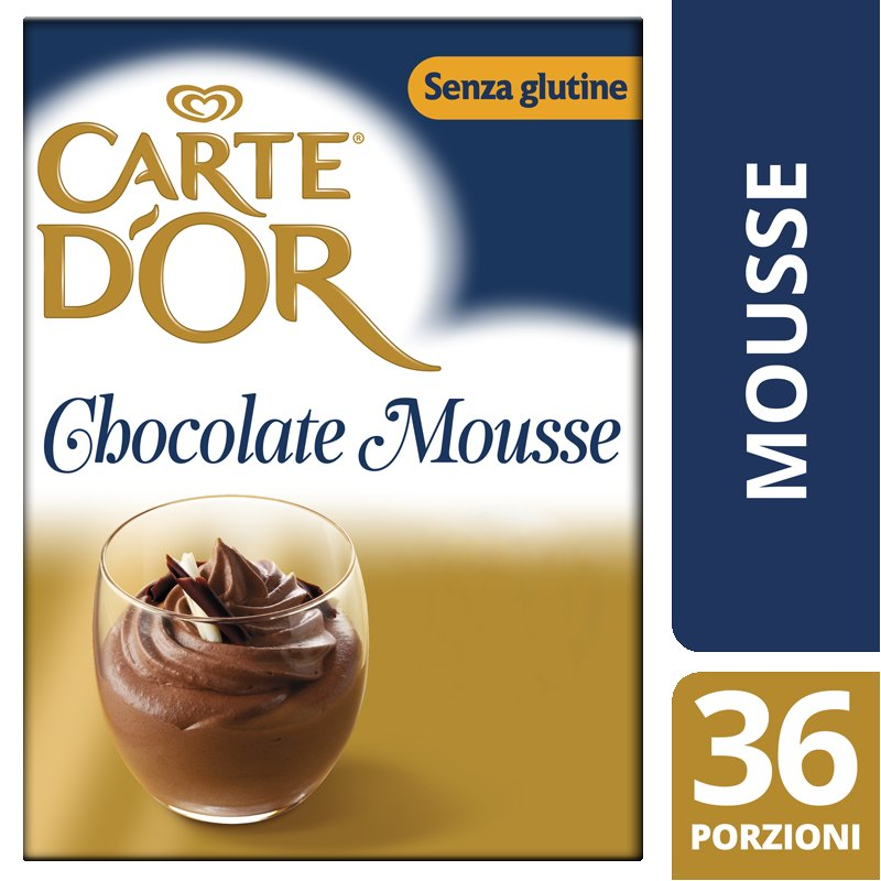 Carte d'Or preparato in polvere per Mousse al Cioccolato 720 Gr