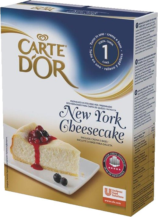 Carte d'Or preparato in polvere per New York Cheesecake 561 Gr