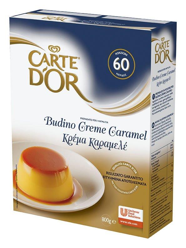 Carte d'Or preparato per Budino Creme Caramel 800 Gr