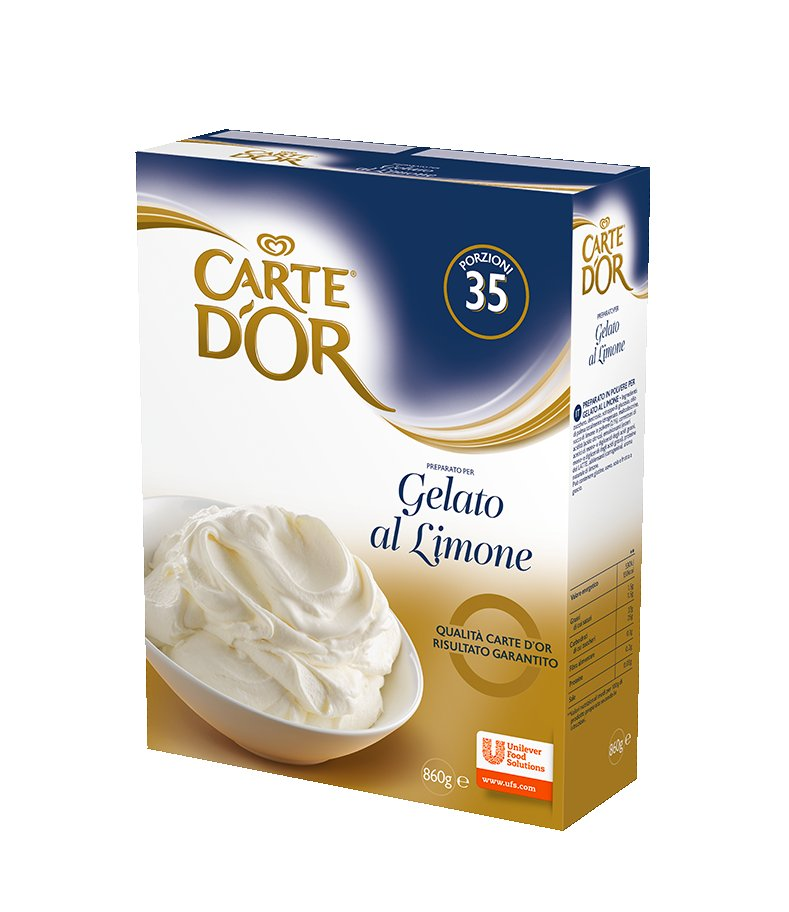 Carte d'Or preparato per Gelato al Limone 860 Gr -