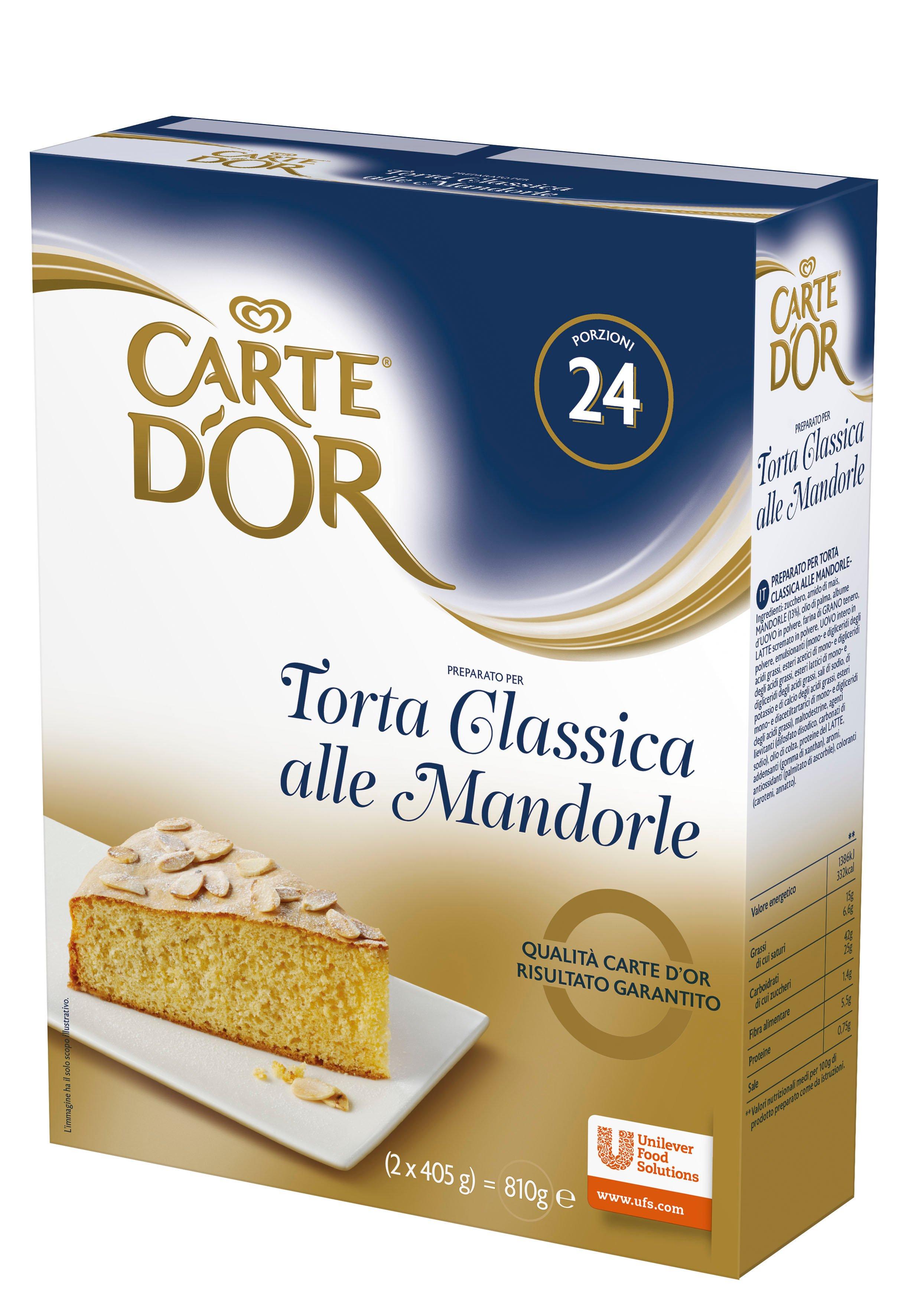 Carte d'Or preparato per Torta Classica alle Mandorle 820 Gr