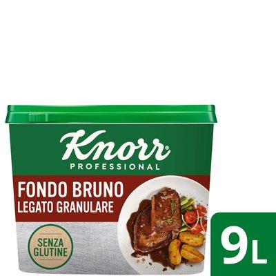 Fondo Bruno legato granulare senza glutine -