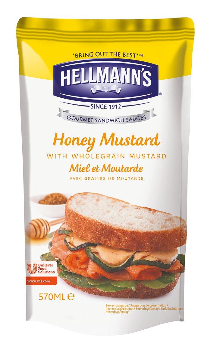 Hellmann's Gourmet Sandwich Sauce Honey Mustard - Senape e Miele 570 ml