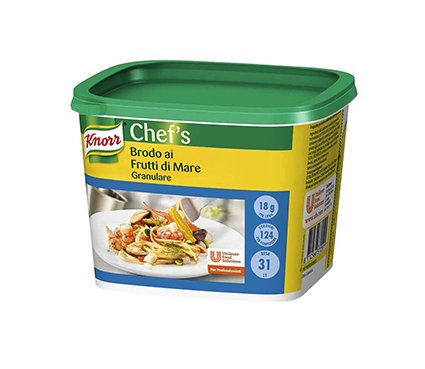 Knorr Brodo ai Frutti di Mare granulare 570 Gr -