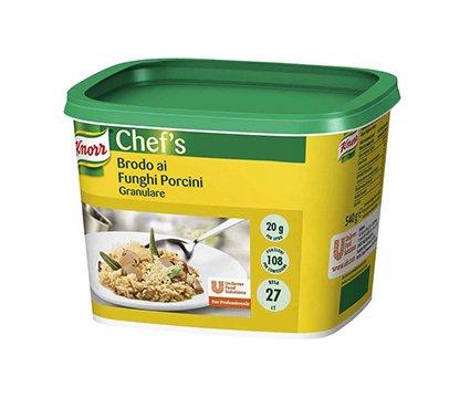 Knorr Brodo ai Funghi Porcini granulare 500 Gr