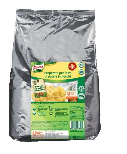 Knorr Preparato per Purè di patate in fiocchi 850 gr