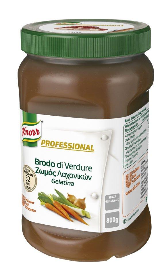 Knorr Professional Brodo di Verdure Gelatina 800 Gr