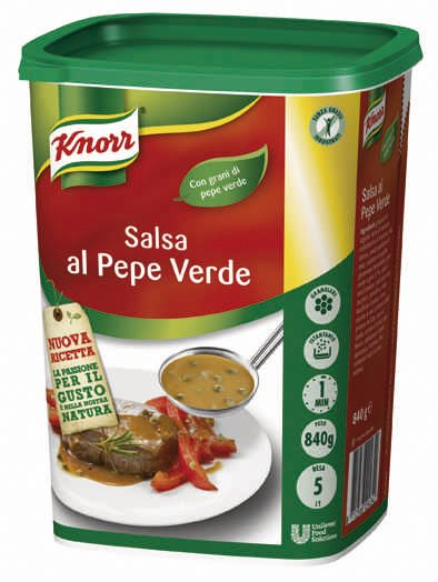 Knorr Salsa al pepe verde granulare 840 Gr -