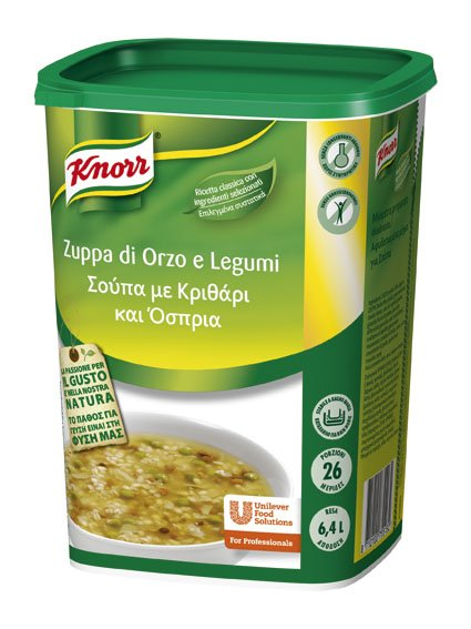 Knorr Zuppa di Orzo e Legumi 900 Gr -