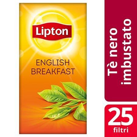 Lipton English Breakfast Black Tea 25 Filtri