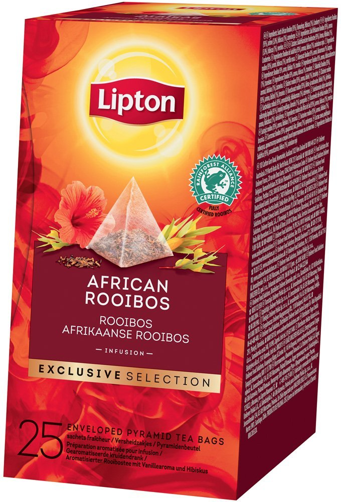 Lipton Pyramid African Rooibos Infusion 25 Filtri
