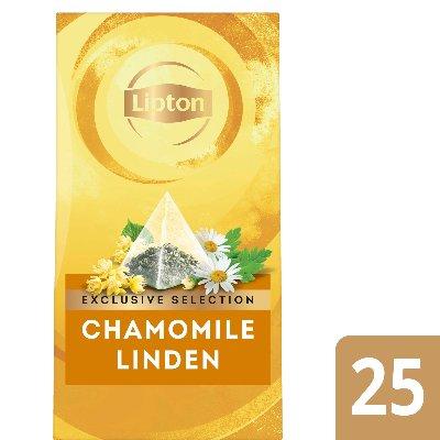 Lipton Pyramid Camomile & Honey Flavour Infusion 25 Filtri -