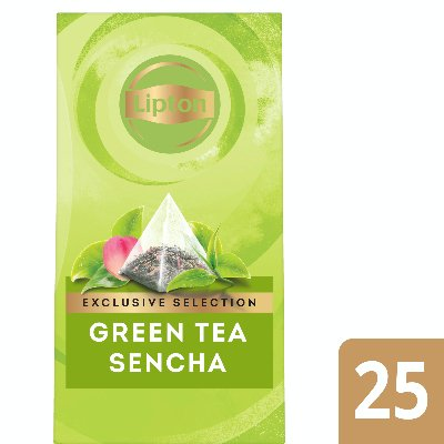 Lipton Pyramid Green Tea Sencha Flavoured Green Tea 25 Filtri  -