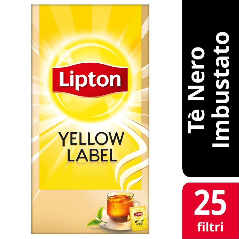 Lipton Yellow Label Tea 25 Filtri -