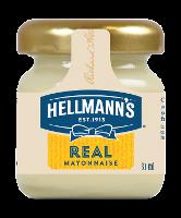 Hellmann's Real Mayonnaise Monodose in vetro 33 ml