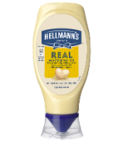 Hellmann's Real Mayonnaise Top Down 430 ml
