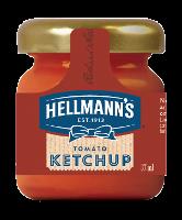 Hellmann's Tomato Ketchup Monodose in vetro 33 ml