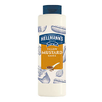 Hellmann's yellow mustard 850ml