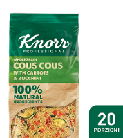 Knorr Cous cous con zucchine e carote
