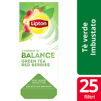 Lipton Green Tea Red Berries 25 filter