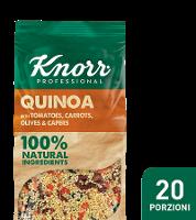 Quinoa con pomodori e carote, olive e capperi Knorr