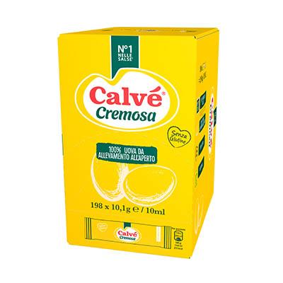 Calvè Cremosa - Con le monodosi Calvé puoi offrire le salse dal tipico gusto italiano, in un formato che ti permette di tenere i costi sotto controllo.
