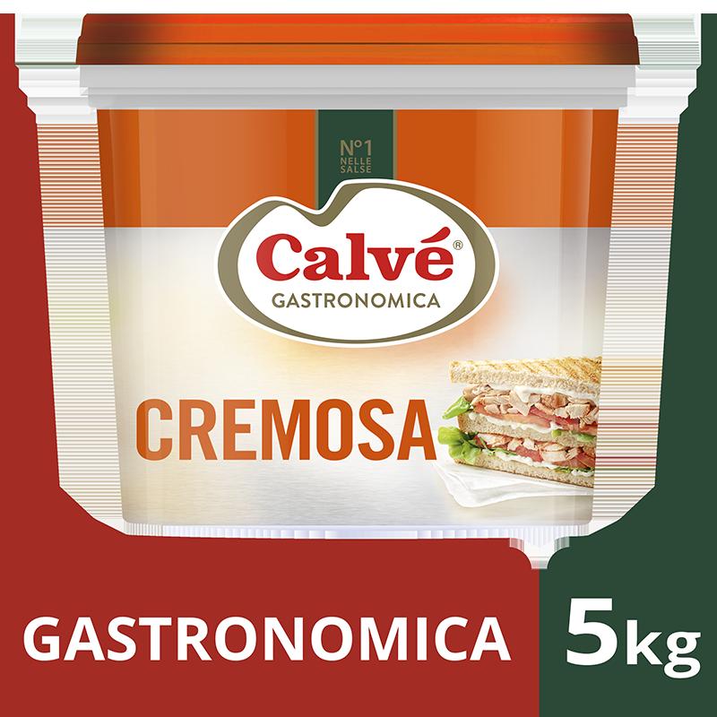 """Calvé Gastronomica Cremosa 5, 5 Kg - """"Quando griglio i miei panini spesso la maionese si separa e non è più appetitosa"""""""