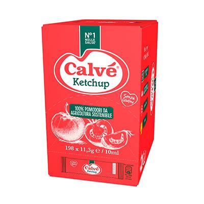 Calvè Ketchup - Con le monodosi Calvé puoi offrire le salse dal tipico gusto italiano, in un formato che ti permette di tenere i costi sotto controllo.