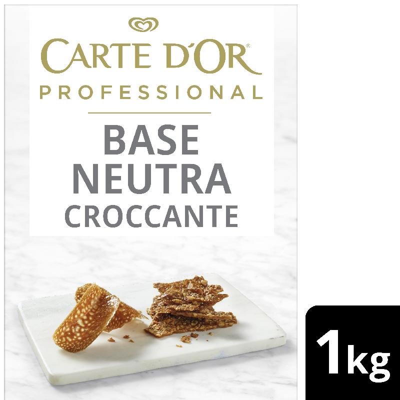 Carte D'Or Base Neutra Croccante - Carte D'Or Professional ti offre una gamma completa di Basi Neutre per coprire tutte le esigenze di pasticceria