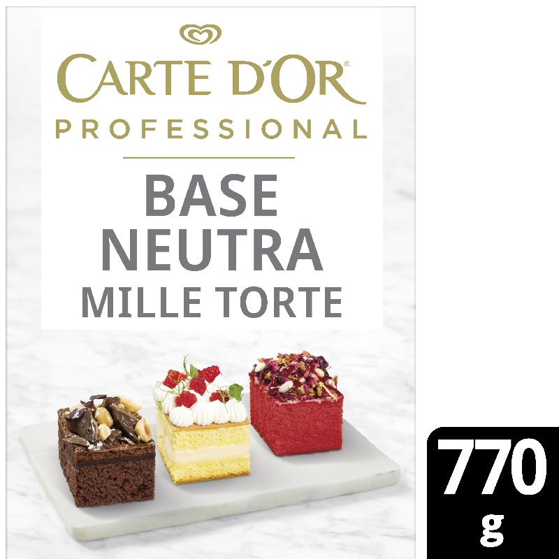 Carte D'Or Base Neutra Mille Torte - Carte D'Or Professional ti offre una gamma completa di Basi Neutre per coprire tutte le esigenze di pasticceria