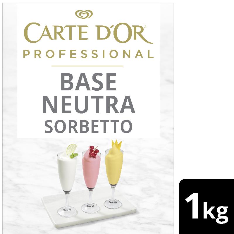 Carte D'Or Base Neutra Sorbetto - Carte D'Or Professional ti offre una gamma completa di Basi Neutre per coprire tutte le esigenze di pasticceria
