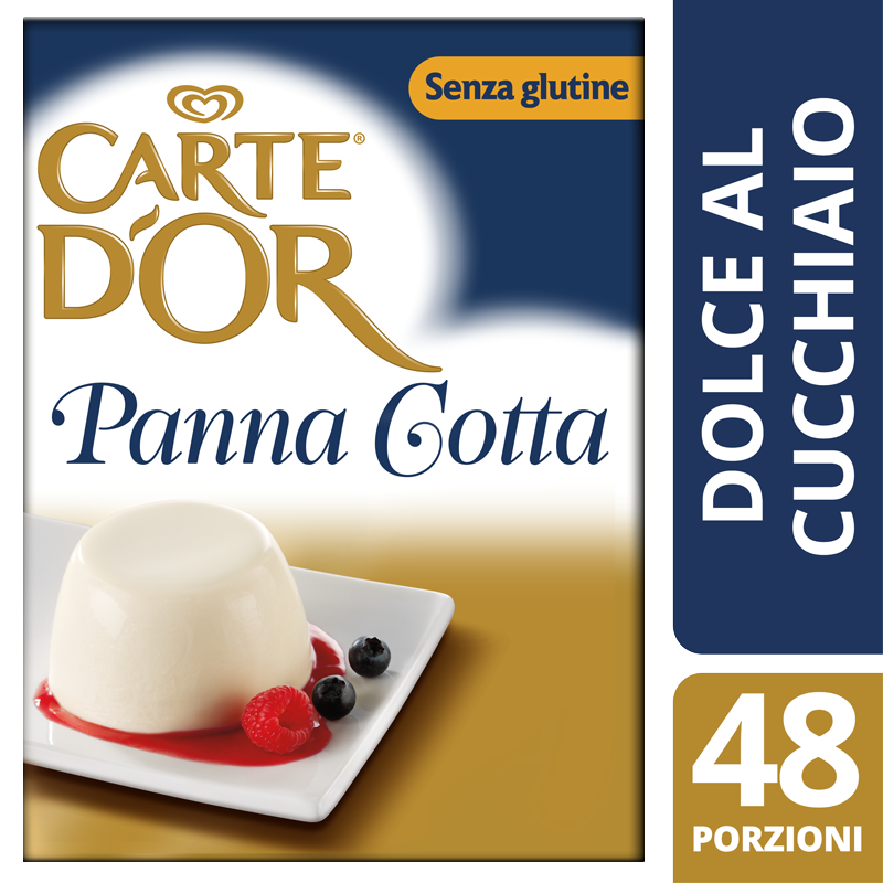Carte d'Or preparato per Panna Cotta 520 Gr