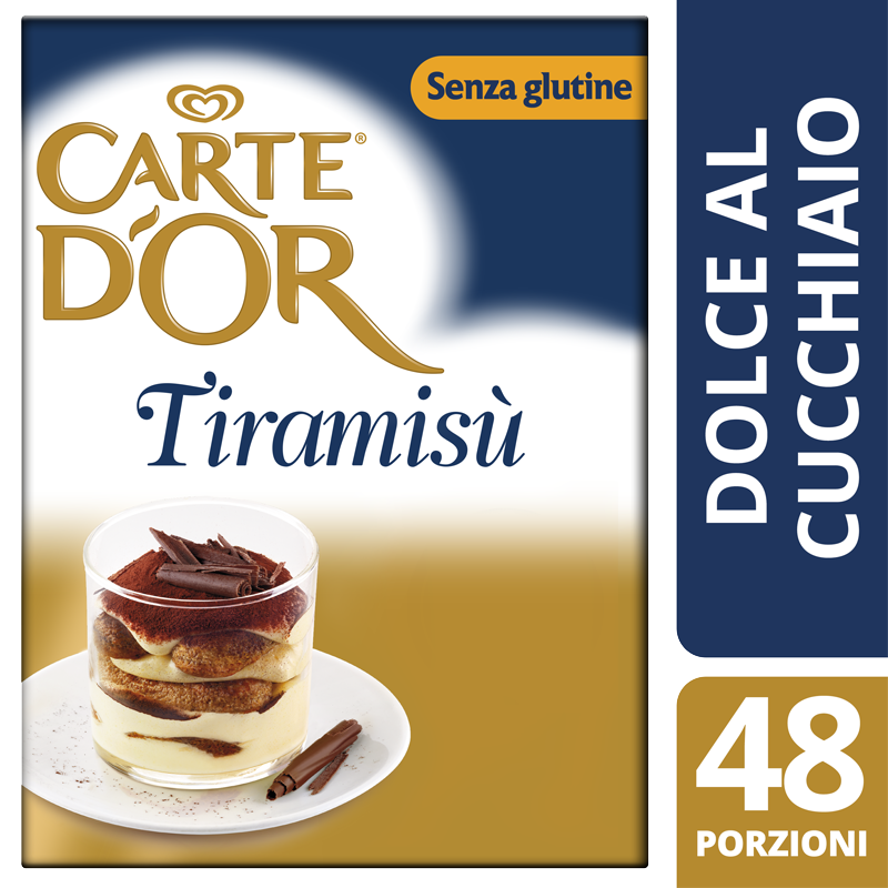 Carte d'Or preparato per Tiramisù 490 Gr