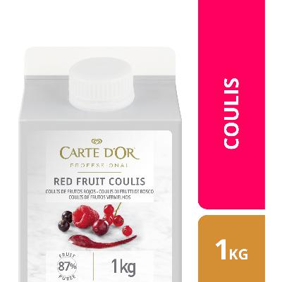 Coulis di Frutti di Bosco 1kg - I Coulis di Frutta Carte d'Or sono frutta fresca pronta all'uso.