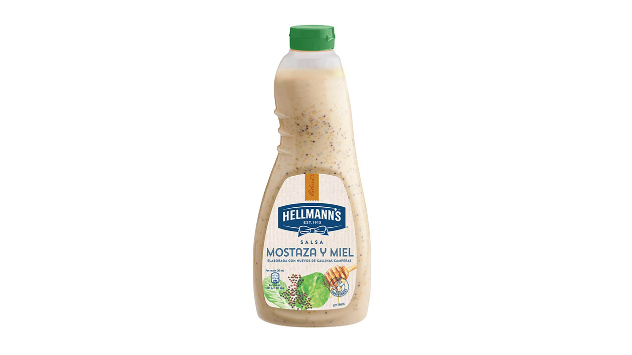Hellmann's Salsa Honey Mustard 1L