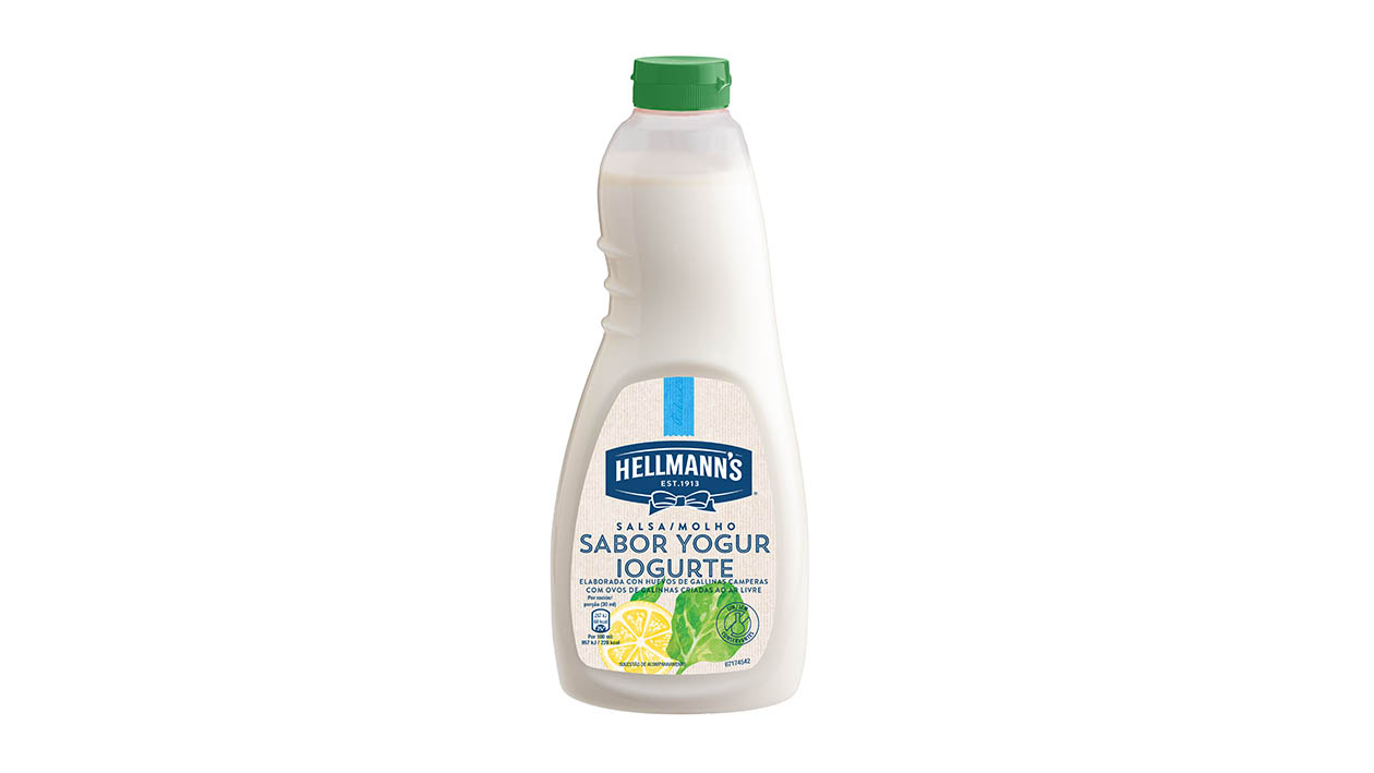 Hellmann's Salsa Yogurt 1L - I Dressing Hellmann's ti aiutano a creare con facilità insalate sempre nuove e gustose.
