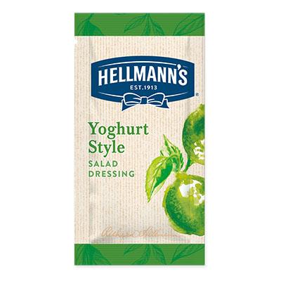 Hellmann's yoghurt lime monodose - I Salad Dressing Hellmann's in monoporzione sono la soluzione perfetta per insaporire e rendere trendy tutte le tue insalate.