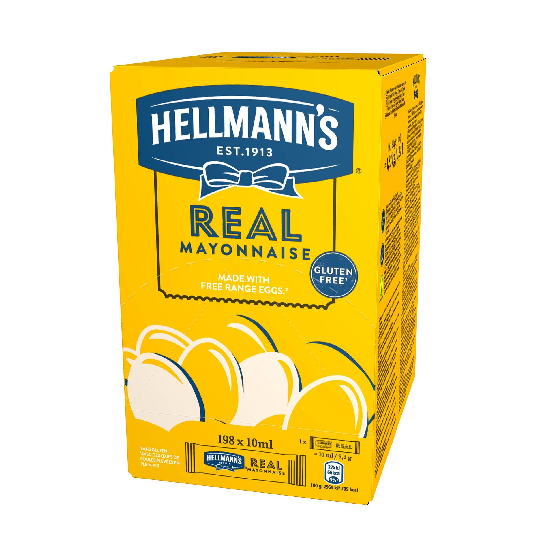 Hellmann's Real Mayonnaise - La maionese N°1 al mondo*, in un formato che ti permette di tenere i costi sotto controllo.