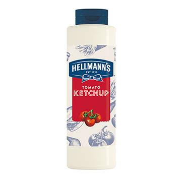 Hellmann's tomato ketchup 856ml