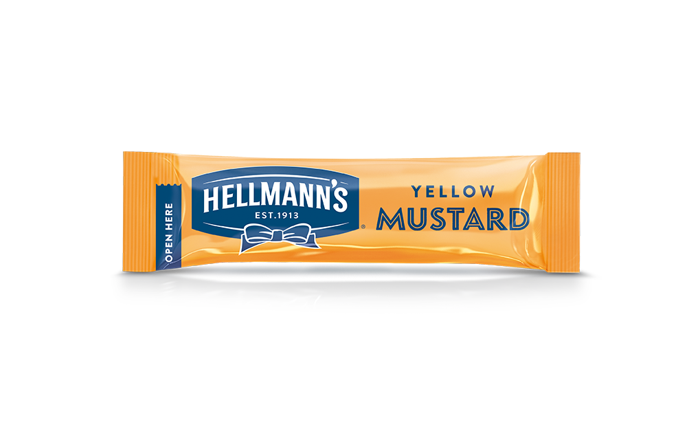 Hellmann's Yellow Mustard Monodose 10 ml