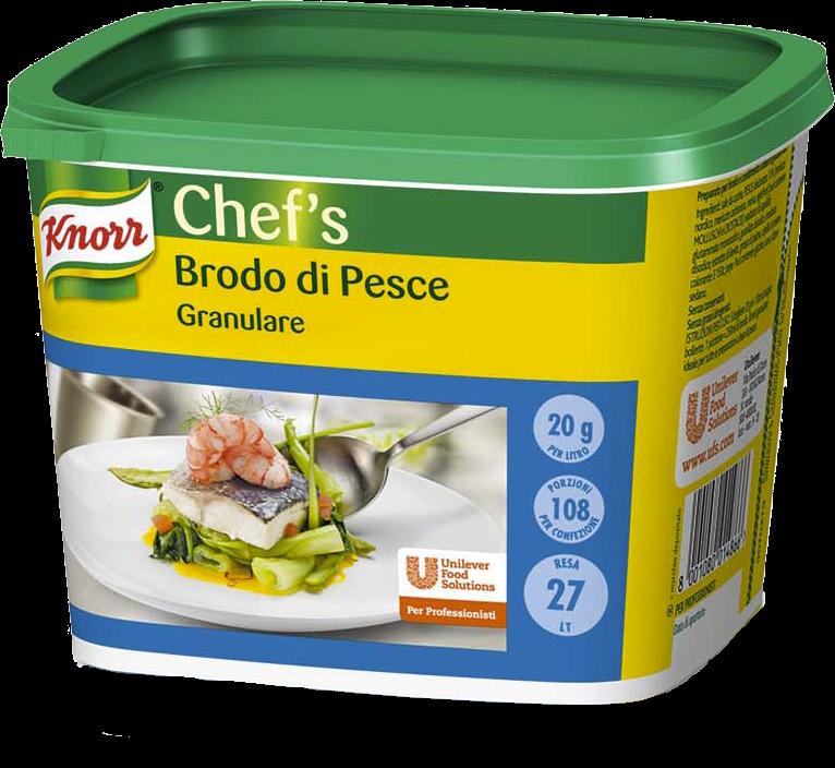 Knorr Brodo di Pesce Granulare 550 Gr