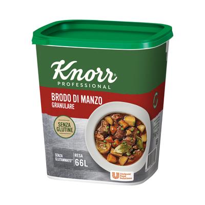 Knorr Brodo Manzo Granulare Senza Glutine 1 Kg - I nuovi brodi granulari Knorr: la stessa qualità di sempre, ora anche senza glutine.