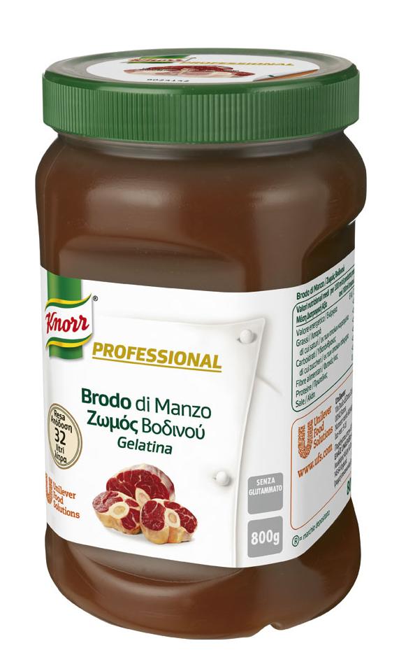 Knorr Professional Brodo di Manzo Gelatina 800 Gr