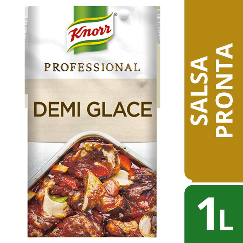 Knorr Professional Demi-Glace 1 Lt - Fondi e Demi Glace Knorr Professional: fatti proprio come li faresti tu, 100% naturali, pronti all'uso 365 giorni all'anno.