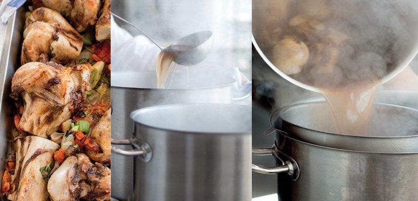 Knorr Professional Fondo Bruno 1 Lt - Stesso aspetto e stessi ingredienti che usi tu, ma già pronti all'uso. PREPARATO COME LO FARESTI TU.