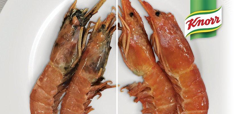 Knorr Ridotto di Brodo Astice 1,25 Lt - + gusto + colore + fresco con la marinatura di Ridotto Knorr.