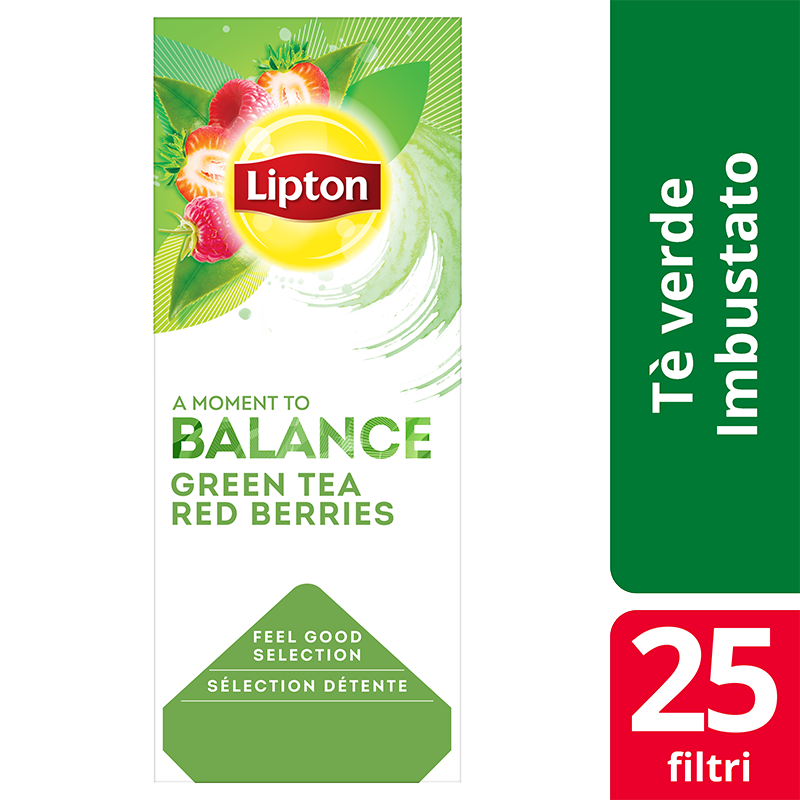 Lipton Green Tea Red Berries 25 filter