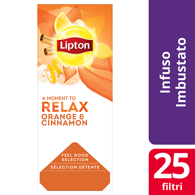 Lipton Orange and Cinnamon 25 filter