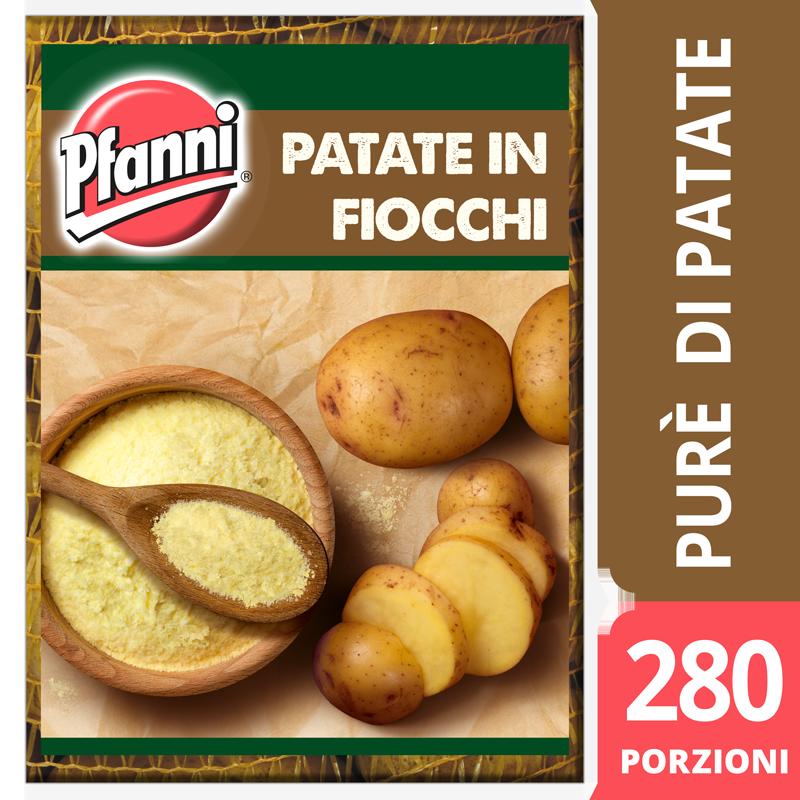 Pfanni Preparato per Purè di patate in fiocchi 4 Kg
