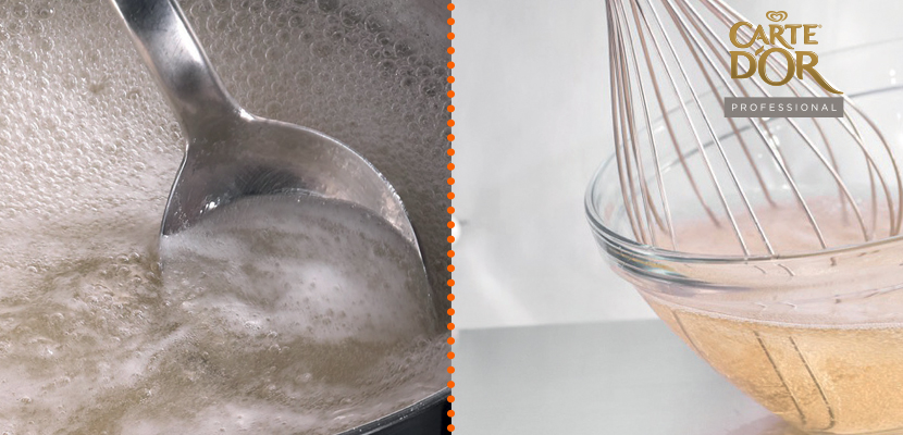 Texture 1 Gelatinosa - Si dissolve all'istante anche a temperatura ambiente. Non forma grumi.